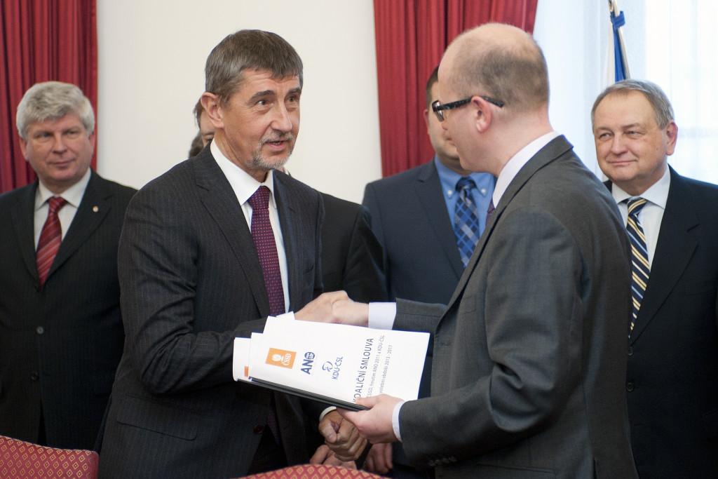 Zákon prosadil Andrej Babiš a Bohuslav Sobotka Foto: archiv