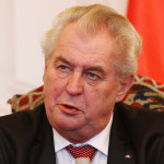 Prezident republiky Milošš Zeman. Foto: Mediafax