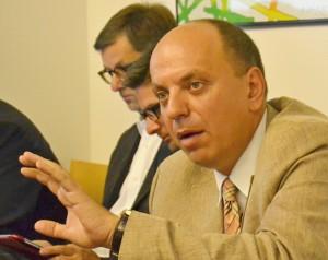 Mluvčím Unie obhájců je člen prezidia Václav Vlk. Foto: Robert Malecký