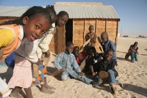 Mauretánské děti: budoucí ropní šejkové nebo oběti Al Kájdy? Foto: Wikipedia