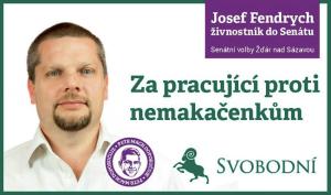Jsem makačenko stejně jako další voliči Svobodných ve Žďáru, konkrétně Milan, Roman, Julek a Radana. Foto: Facebook
