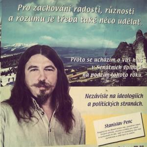 Chovám zvířátka a vychovávám dětičky. Stanislav Penc by rád do Senátu. Foto: Facebook