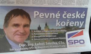Praze tanky, Praze brambory! Repro: Facebook