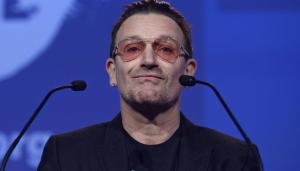 Bono Vox se omlouvá fanouškům Applu za to, že jim U2 nevybíravě vnucovali své nové album. Repro: Start-up.cz