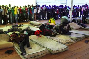 Do brazilského státu Acre proudí stovky uprchlíků. Zastaví je ebola? Repro: Pinterest