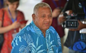 Staronový vládce Fidži, diktátor Frank Bainimarama. Repro: Twitter