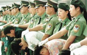 Popravy v Číně jsou veřejné a masové. Ilustrační foto: Harunyahya.com
