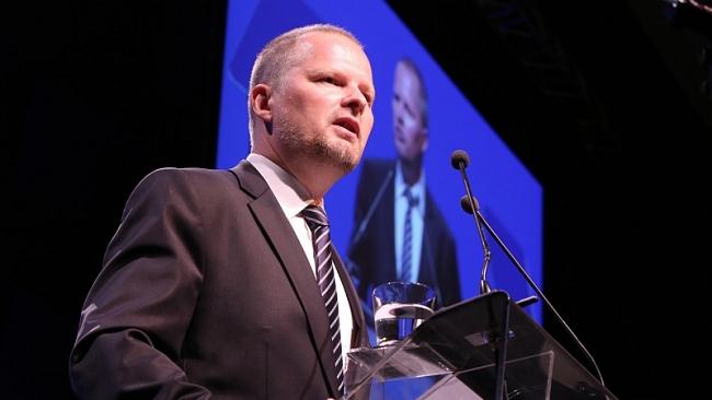 Petr Fiala na kongresu Foto: ODS