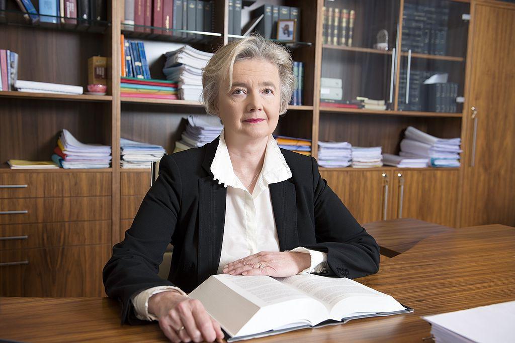 Někdejší předsedkyně NS Iva Brožová Foto: NS