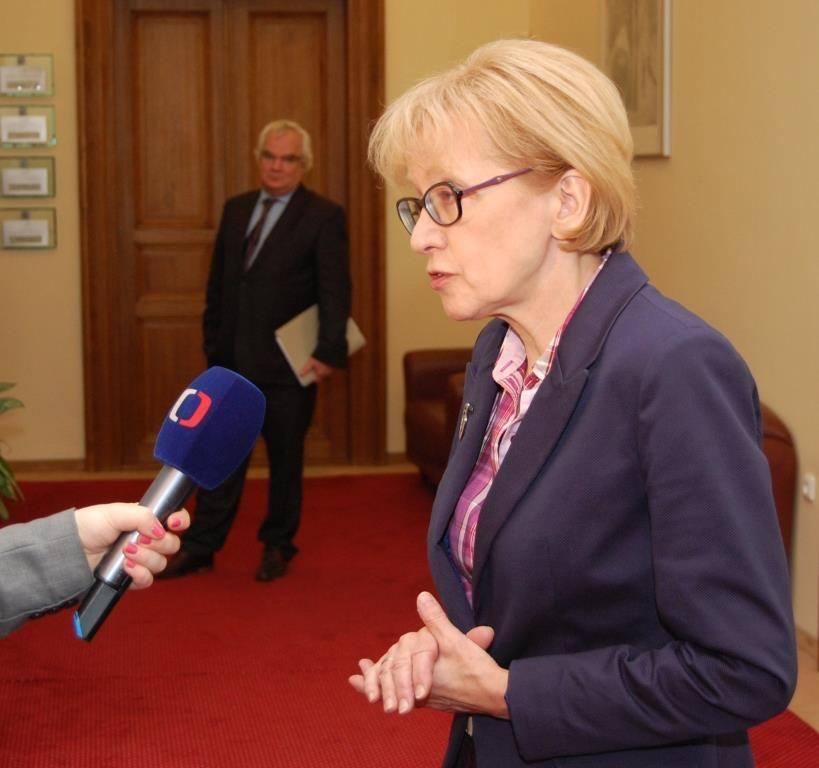 Exministryně Helena Válková Foto: MSp