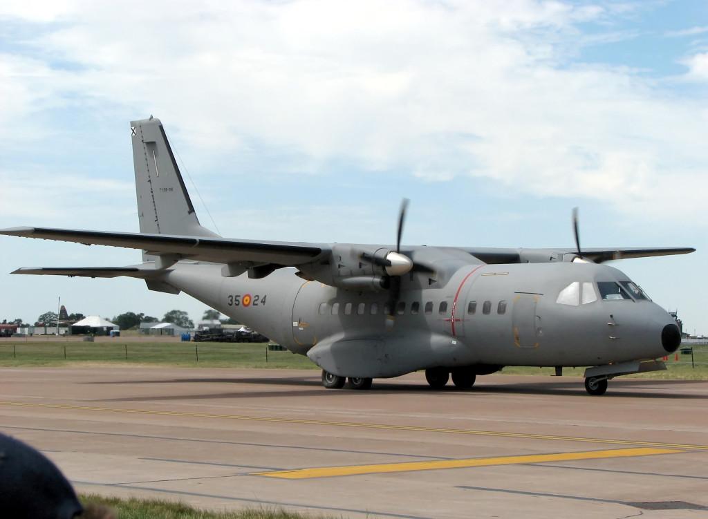 Přepravní letoun CASA. Pro Vlastu Parkanovou stále neukončená věc. Foto: Wikepedia