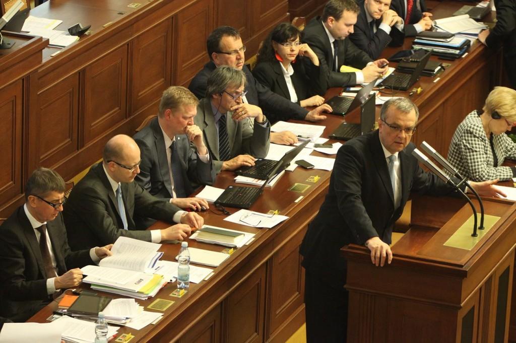 Kalousek v Poslanecké sněmovně Foto: psp.cz