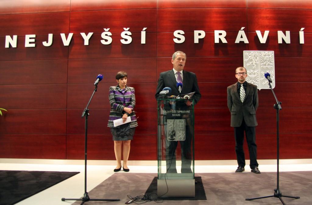 Při tiskové konferenci na NSS Foto: archiv