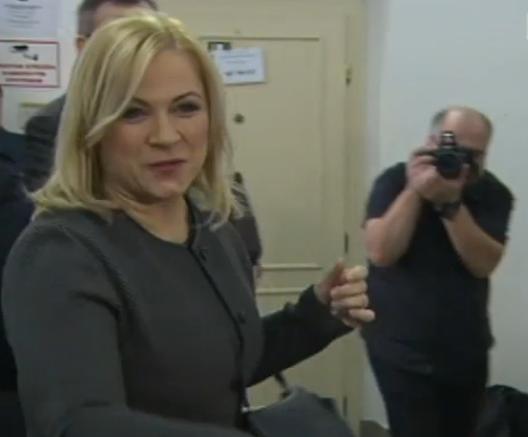 Janu Nečasovou poslal do vazby soud v Ostravě Reprofoto: ČT
