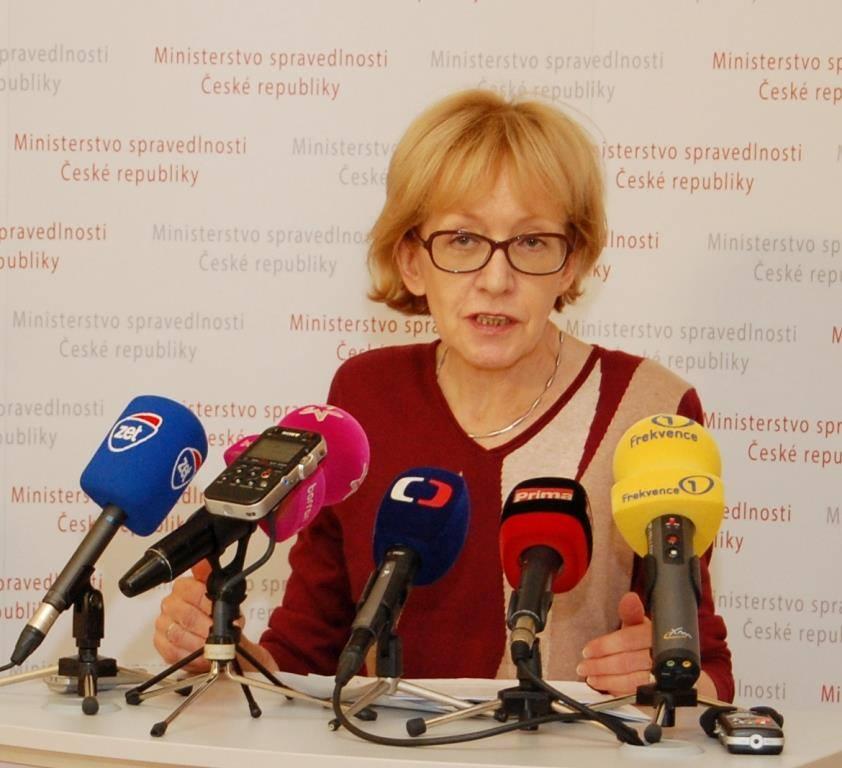 Exministryně Helena Válková (ANO) Foto: MSp