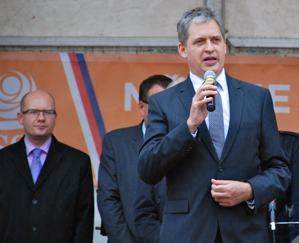 Ministr pro lidská práva a menšiny Jiří Dienstbier Foto: Facebook