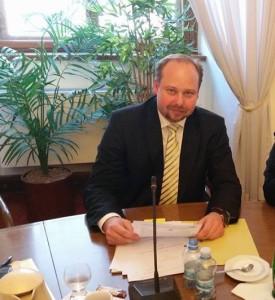 Předseda ústavně právního výboru Poslanecké sněmovny Jeroným Tejc