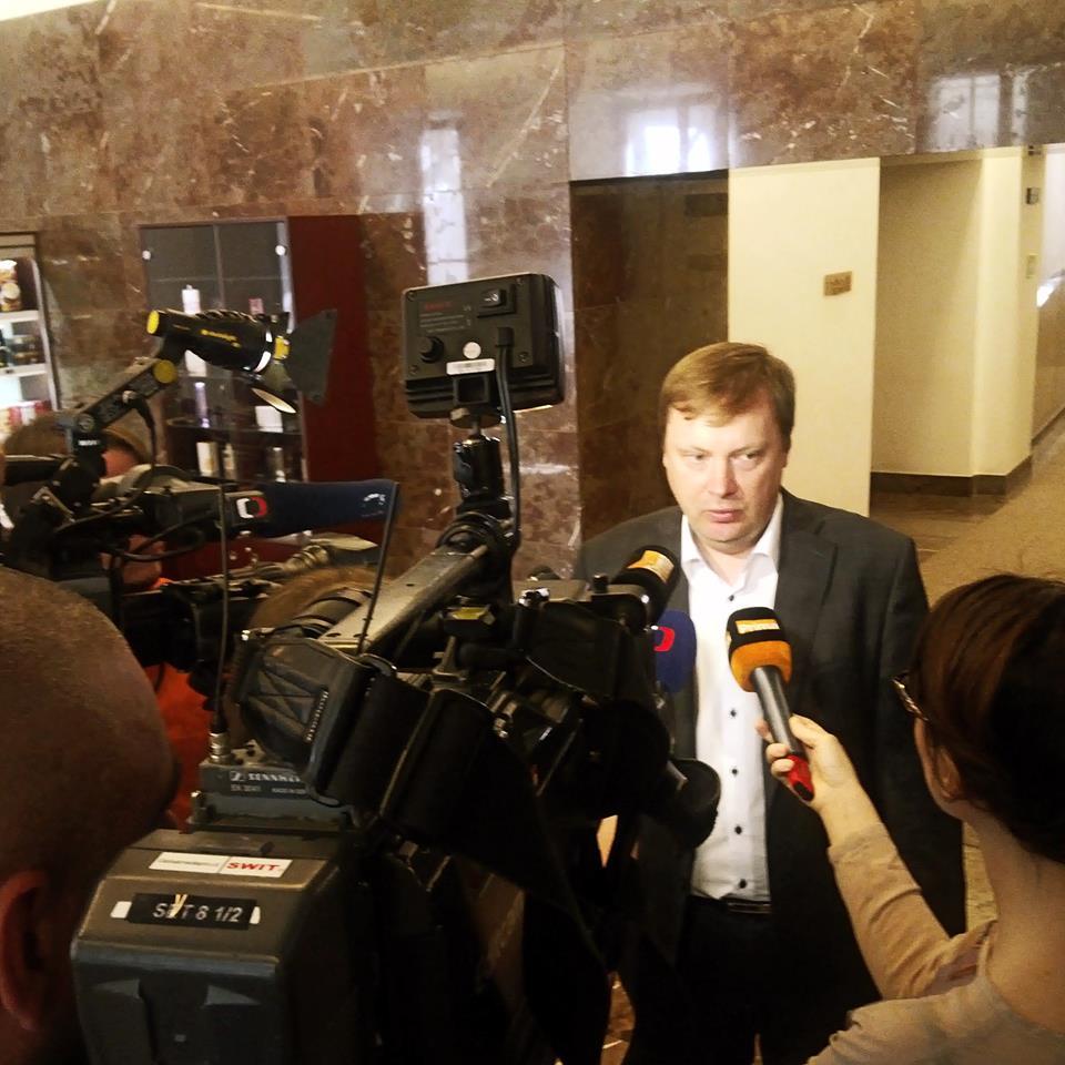 Poslanec Martin Plíšek ve sněmovně Foto: Facebook