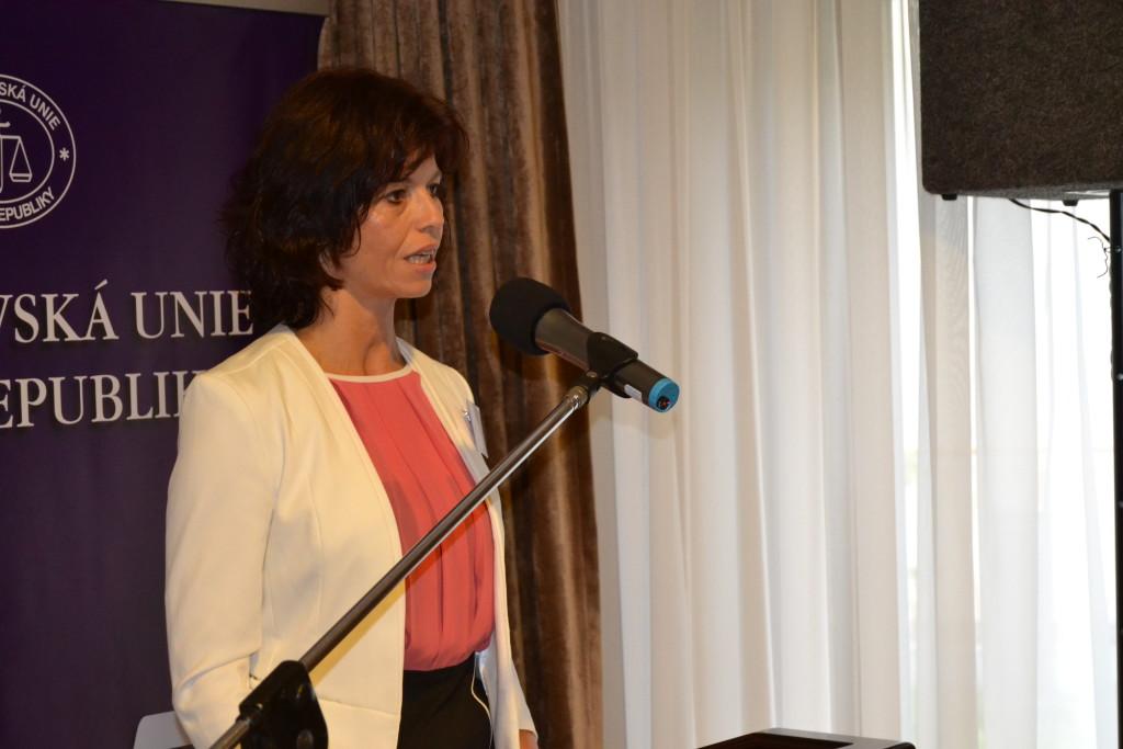 Prezidentka Soudcovské unie Daniela Zemanová  Foto: Eva Paseková