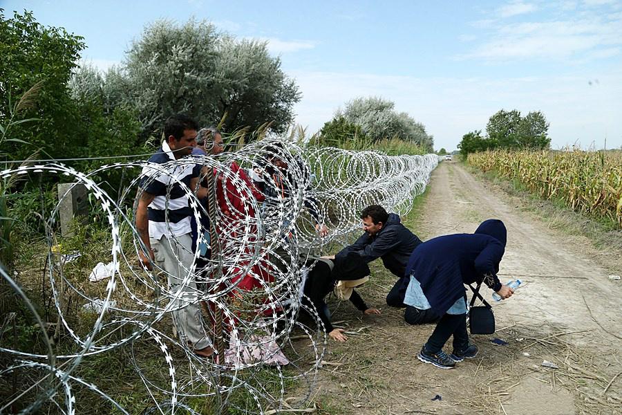 Plot na hranici s Maďarskem Foto: wikipedia