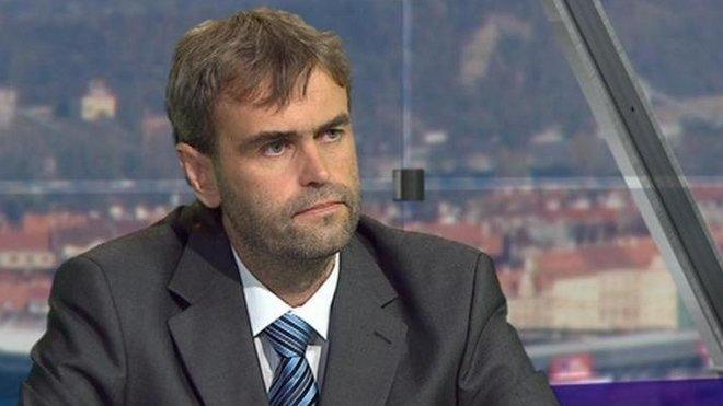 Bývalý šéf UOOZ Robert Šlachta, Reprofoto ČT