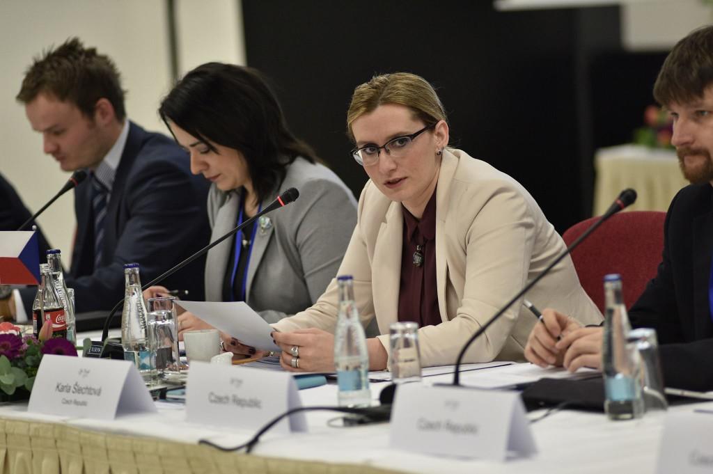 Předkladatelka návrhu ministryně Karla Šlechtová Foto: MMR