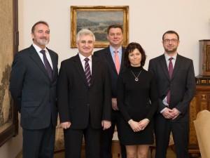 Představitelé Senátu se setkali s vedením Soudcovské unie Foto: Senát PČR
