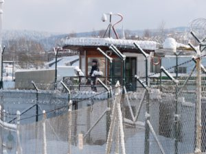 Zima ve věznici Rýnovice Foto: vscr