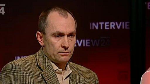 Soudní exekutor Petr Kučera, Reprofoto ČT