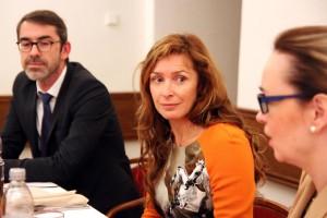 Podnikatelka Ivana Tykač na ministerstvu práce a sociálních věcí Foto: mpsv
