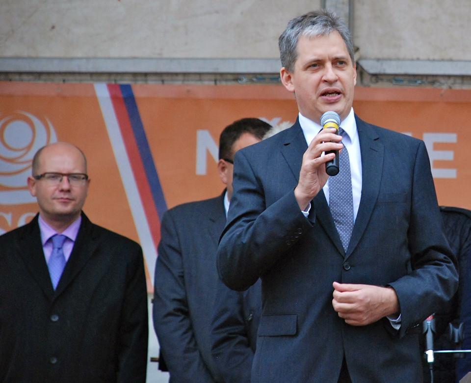 Na mítinku ČSSD Foto: Čssd