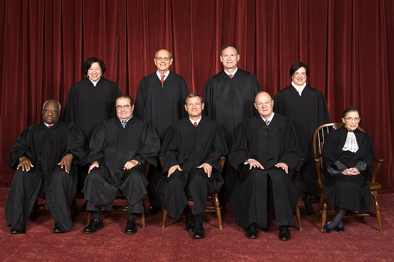 Soudci Nejvyššího soudu USA Foto: wikipedia