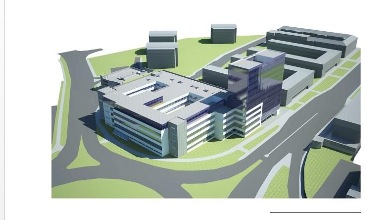 Takto by měl vypadat nový justiční areál Foto: MSp
