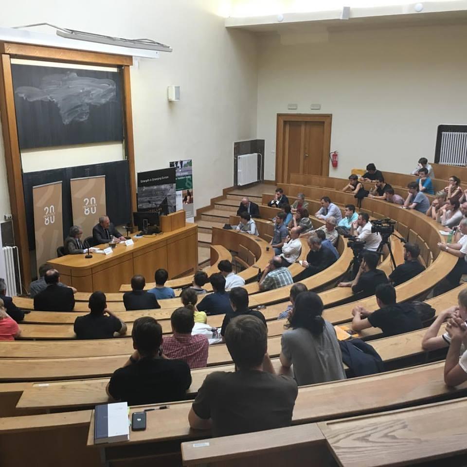 Tématem debaty byl především právní stát a fungování veřejné správy Foto: Institut 2080