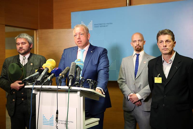 Ministr vnitra Milan Chovanec Foto: Facebook