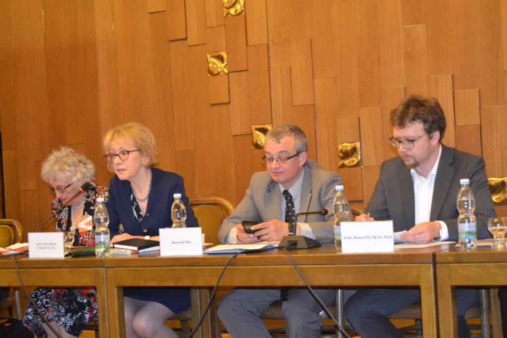 Konferenci pořádala Helena Válková a Marek Benda Foto: EP