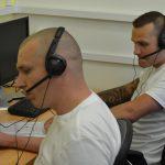 Vězni si práci v call centru pochvalují a je o ni zájem Foto: Eva Paseková