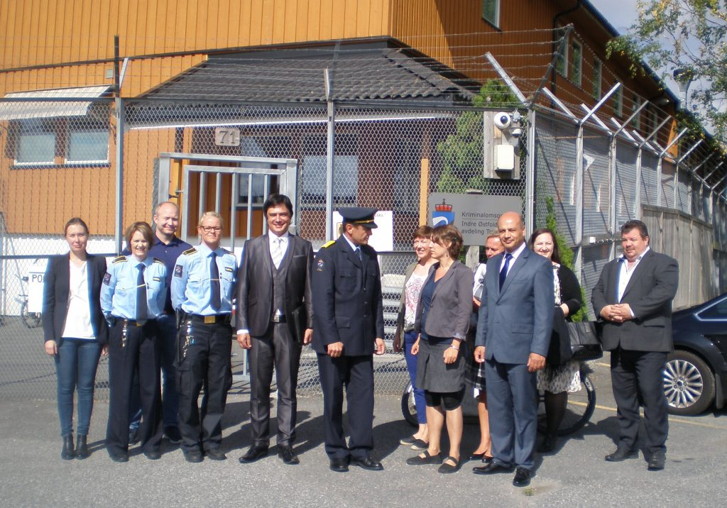 Zástupci ČR navštívili otevřené věznice v Norsku Foto: MSp