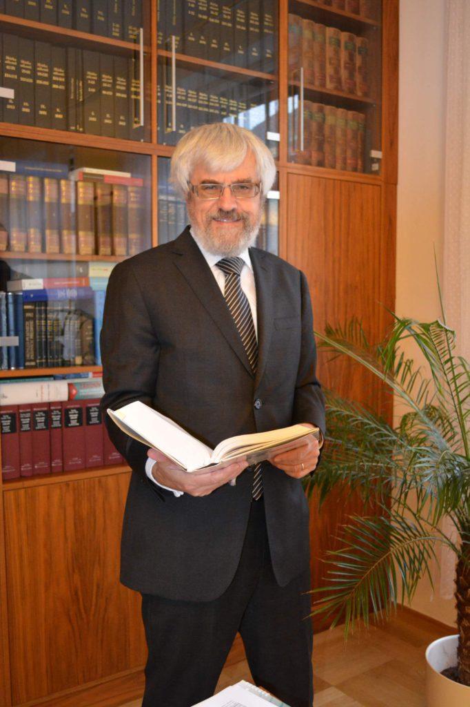 Předseda NS ve své pracovně Foto: NS